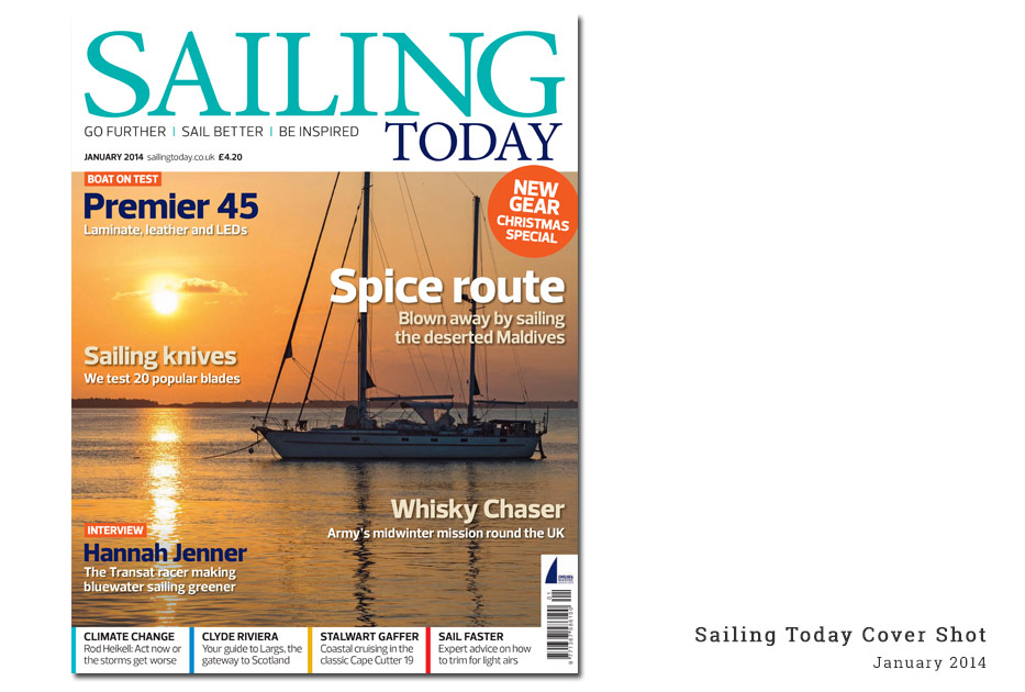 Sailing Today cover shot Jan 2014